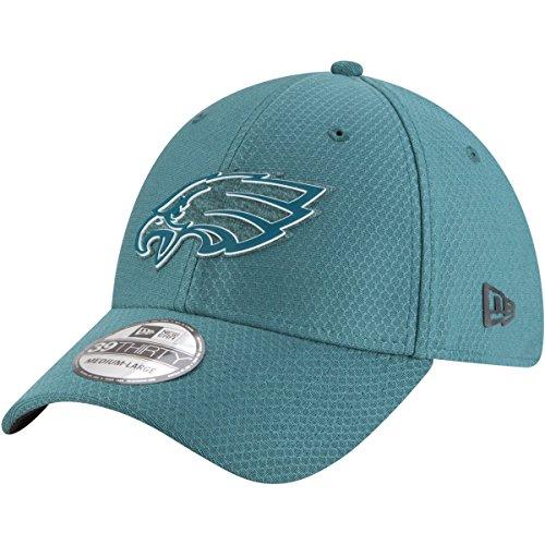 New Era Authentic Philadelphia Eagles Team Color 2018 Training Camp 39THIRTY Flex Hat (L/XL)