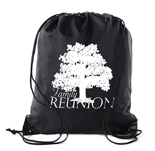 Mato & Hash Family Reunion Gift Bags for Family Reunion Favors | Drawstring Bags ()