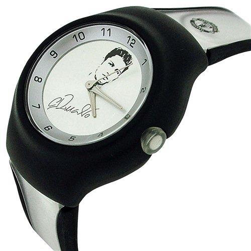 Real Madrid Ronaldo - Reloj para niños, Correa de plástico Color Negro: Amazon.es: Relojes