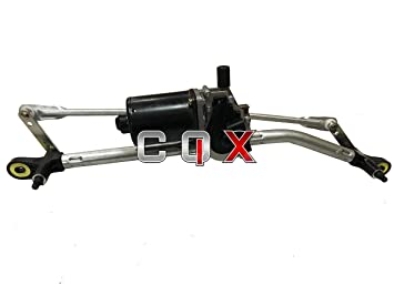 Amazon.es: CQX Mecanismo y Motor del limpiaparabrisas Delantero Fiat ...
