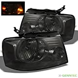 07 f150 smoked headlights - For 2004-2008 F150/LOBO, 2006-2008 Mark LT Smoked Headlights Assembly Replacement LH+RH Pair Left+Right/2005 2006 2007