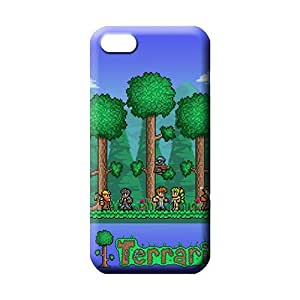 MMZ DIY PHONE CASEiphone 5c Highquality Plastic Snap On Hard Cases Covers mobile phone back case terraria adventure