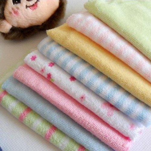 XIDAJE Baby HOT SALE Face Washers Hand Towels Cotton Wipe Wash Cloth