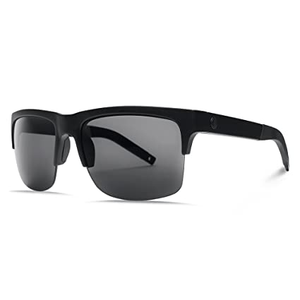 06774228f6d Image Unavailable. Image not available for. Color  Electric Visual  Knoxville Pro Matte Black OHM+Polarized Grey Sunglasses