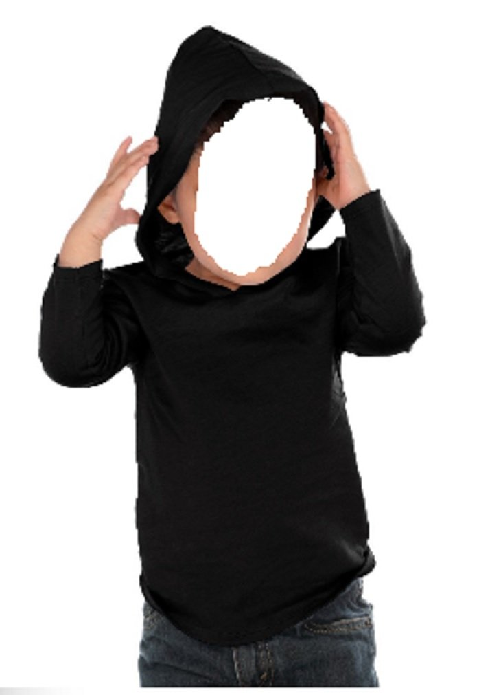 Kavio Unisex Kids Fine 100% Cotton Jersey Long Sleeve Hooded T Shirt Sizes 6M to 5T