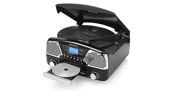 Ricatech RMC90 Negro tocadisco: Turntable: Amazon.es ...