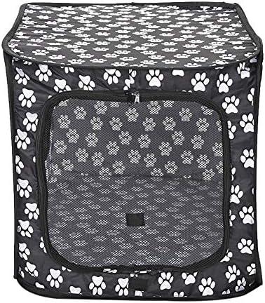 Basisago Chien Pet Playpen,Chien Pliable Tente Parc de Jeu en Tissu Pliable Parc de Hamster de Cage de Parc de Chiot de Parc Intérieur/Extérieur D'utilisation