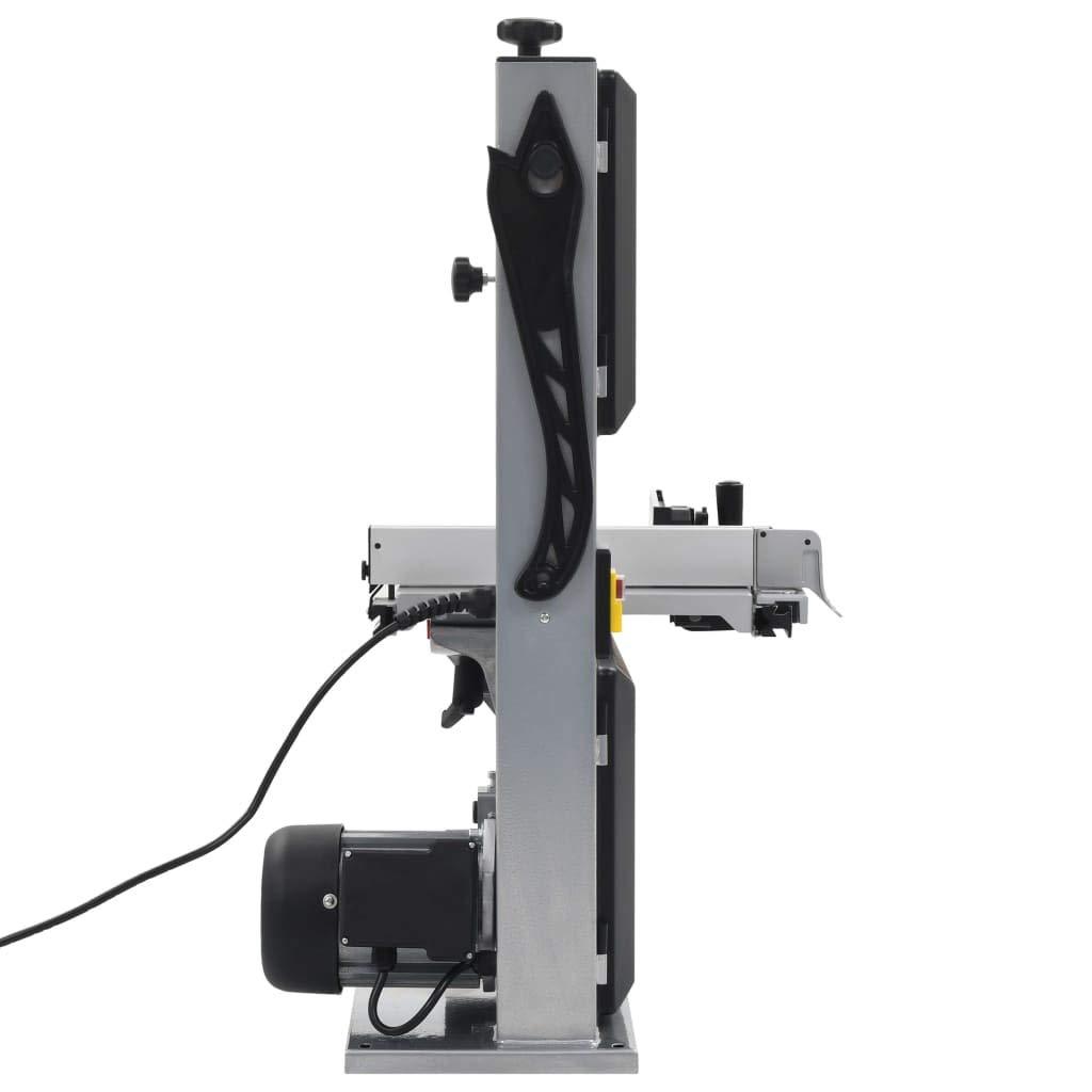 vidaXL Sierra de Cinta de Acero Ancho de Corte Herramientas Bricolaje Corte R/ápido Preciso Mesa Inclinable Flexibilidad Corte Estable Duradera 245mm