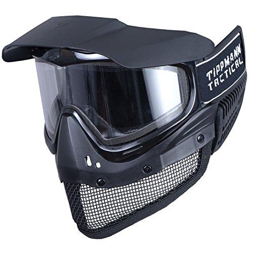 Tippmann Tactical Mesh Airsoft Goggle, Black