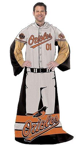 Baltimore Orioles 48x71 Comfy Throw - Player Design - Licensed MLB Baseball Gift