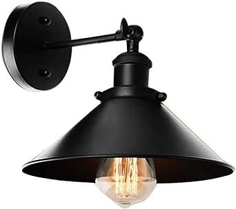 Aplique Industrial Vintage,E27 Edison Lámpara De Pared Retro