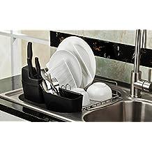 PremiumRacks In Sink Dish Rack - 304 Stainless Steel - Adjustable - Multipurpose - New Product September 2017