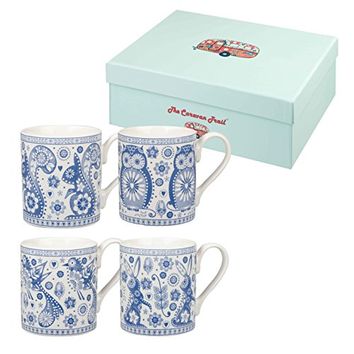 Rabbit Tea (Churchill Owl And Rabbit Fine China Gift Coffee Tea Mugs Set of)