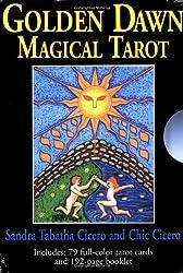 Golden Dawn Magical Tarot with Cards