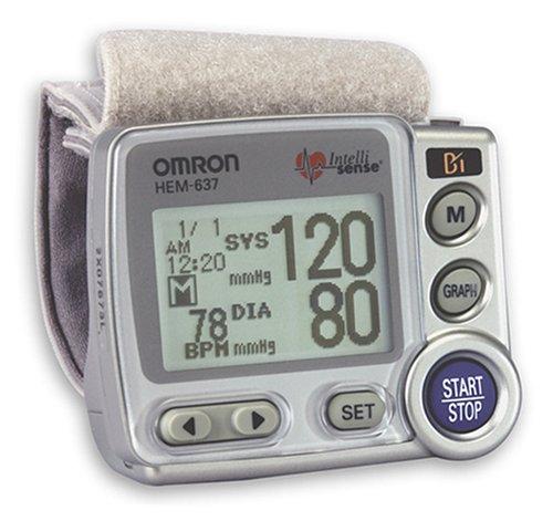 Amazon Omron Hem 637 Wrist Blood Pressure Monitor With Advanced