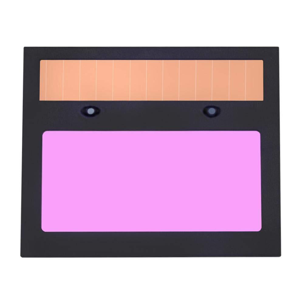 Hillrong Automatik Verdunkelung LCD Schwei/ßmaske Schwei/ßmaske Automatik Verdunkelung Filter Schwei/ßbrille LCD Solar Linse Helm Augenmaske