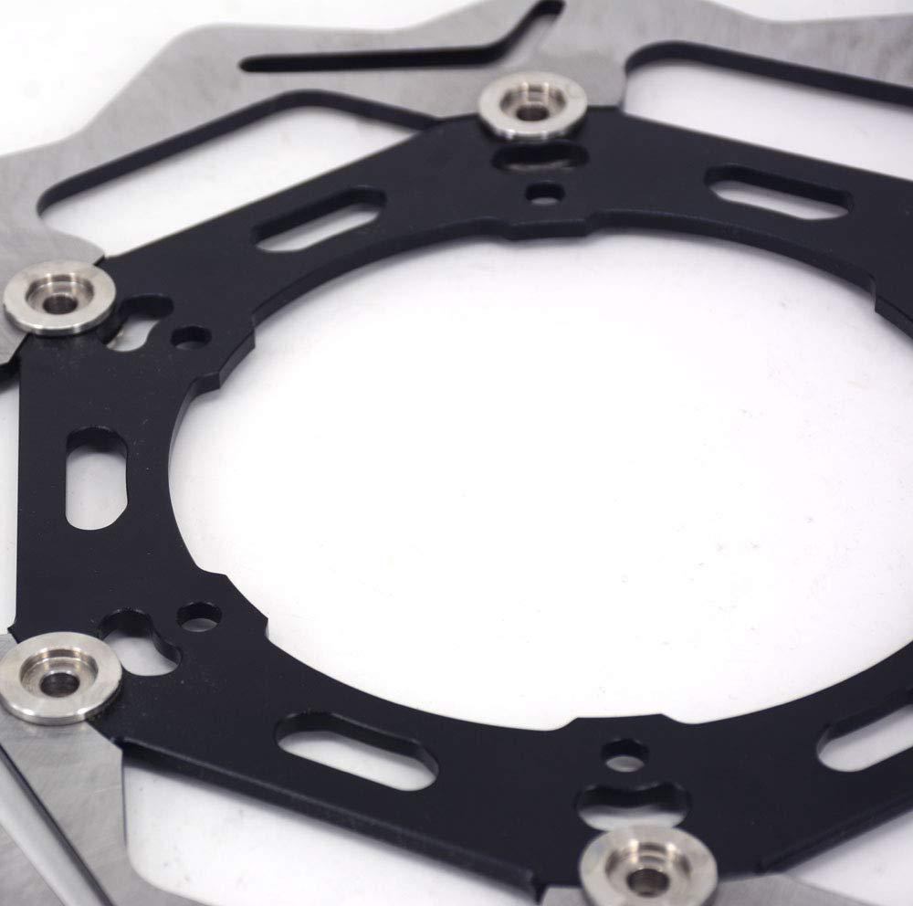 Moto disque de frein flottant Rotor en acier inoxydable pour Yamaha YZ WR 250/cc 426/CC WR F YZF 426/CC 450/cc Suzuki Drz400/S//SE//E RM 125/250/Dr-z 250R RMX DR V//W//X DR 350/400/SY//SK Dr-z 400/Y//K