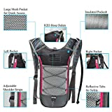 J.CARP 2 Pack Hydration Backpack Pack with 2L