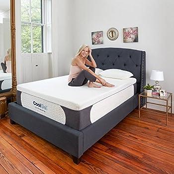 Amazon Com Lucid 14 Inch Plush Memory Foam Mattress