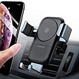andobil Wireless Car Charger Mount, Auto-Clamping 7.5W /10W Power Fast Charging Qi Cell Phone Holder Compatible iPhone Xs/Xs Max/XR/X /8/8 Plus, Samsung Galaxy S10 /S10+ /S9 /S9+ /S8 /S8+ /Note 9