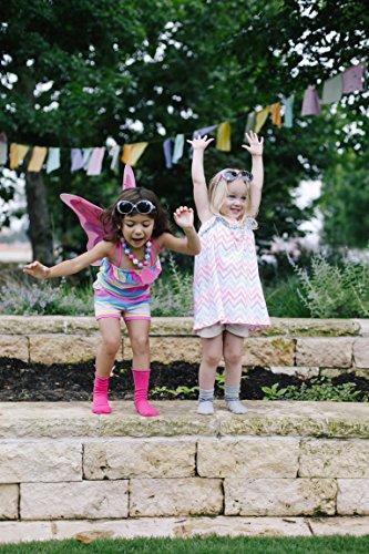 Stride Rite Girls' 3-Pack Turncuff Socks