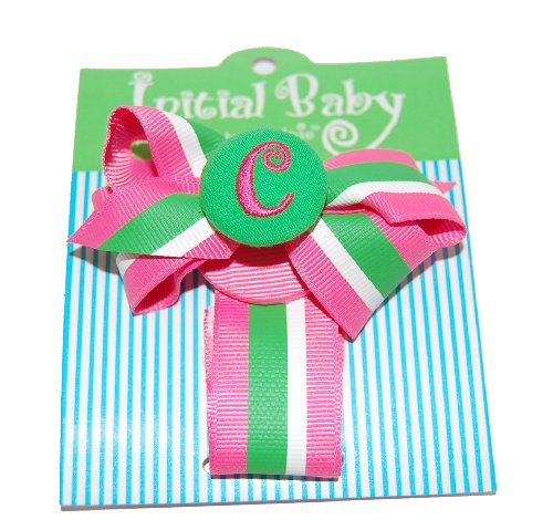 Mud Pie Initial Personalized Pacifier
