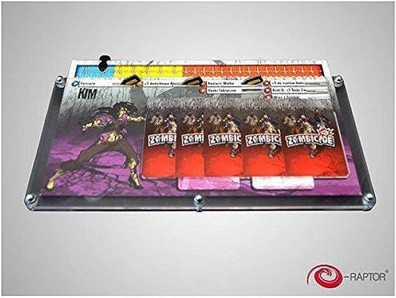 E-Raptor s era93689 – Juego de Cartas Organizador – zombicide: Amazon.es: Juguetes y juegos