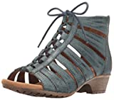 Cobb Hill Rockport Women's Gabby Gladiator Sandal, Blue, 8 M US