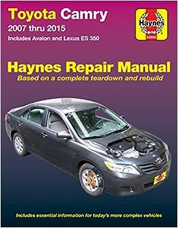 lexus manuals online