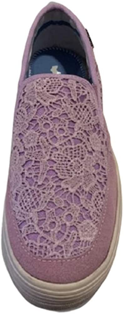 -Gas Katniss, Chaussures Slip-on Femme Lilas