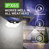 Hmcity Solar Lights Outdoor 120 LED with Lights