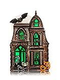 Bath and Body Works Wallflower Fragrance Plug Large Haunted House Halloween Nightlight with Bat, Skeleton Cat and Jack o'Lantern Pumpkins