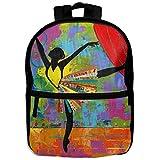 Beach Surfers Elegant Ballet Cool Personalized Printing Shoulders Kid' Bag For Teens School Kindergarten Backpacks With Zipper