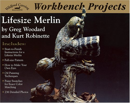 Read Online Workbench Projects: Lifesize Merlin (Wildfowl Carving Magazine Workbench Projects) PDF