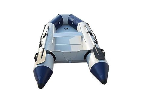 intbuying 8.8 Ft PVC inflable barco Tender con tira piso flotador ...