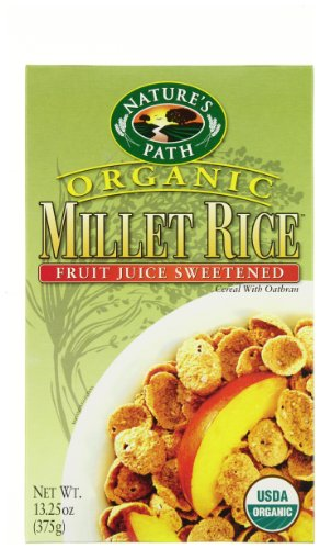 Nature's Path Organic Millet Rice Oatbran Cereal -- 13.25 oz