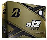 Bridgestone Golf e12 Soft Golf Balls, White