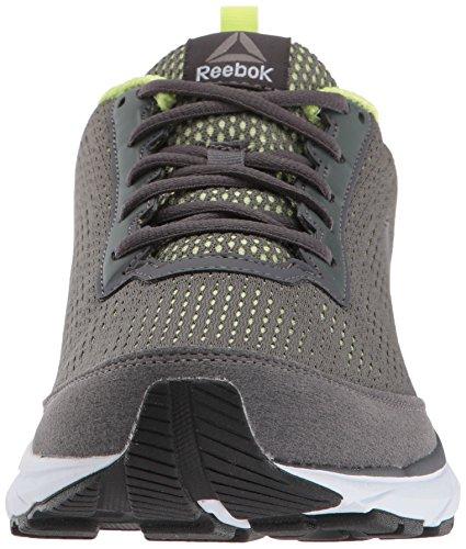 Reebok Mens Jet Dashride 5.0 Ironstone Sneaker / Flash Elettrico