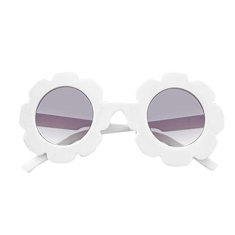 LanLan Gafas de Sol mignonnes de Flor de Sol para los niños ...