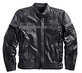 Harley-Davidson Men's Triple Vent System, Evolution Leather Jacket 98068-14VM