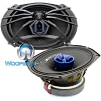 Pair of SP2.694 - Soundstream 6x9 250W Max 2-Way Full Range Coaxial Speaker