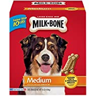 Milk-Bone Original Dog Treats for Medium Dogs, 10-Pound