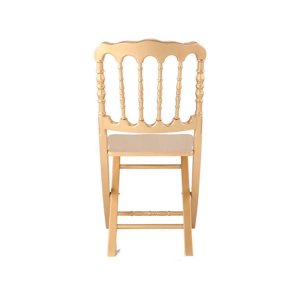 YQQ Chaise pliante Napoléon Chaise De Salle À Manger Chaise