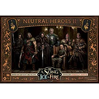 CMON A Song of Ice and Fire: Neutral Heroes Box #2, Brown