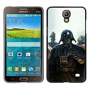 TaiTech / Prima Delgada SLIM Casa Carcasa Funda Case Bandera Cover Armor Shell PC / Aliminium - Darth Vader Pintura - Samsung Galaxy Mega 2