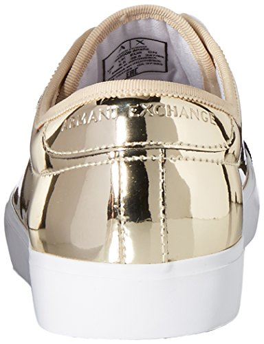 Sneaker Metallico A Taglio Basso A | X Armani Exchange Da Donna Oro