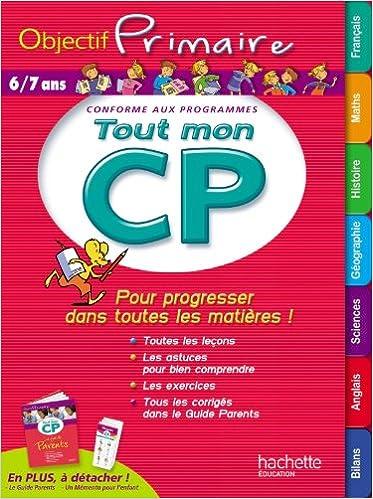 Amazon Fr Objectif Primaire Tout Mon Cp Collectif Livres