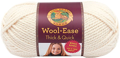 Lion Brand Yarn 641-099 Wool-Ease Thick & Quick Bonus Bundle Yarn, Fisherman