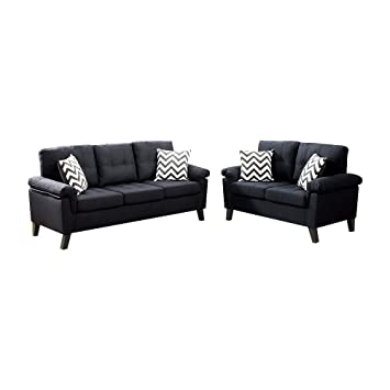 Terrific Amazon Com Benzara Bm168478 Polyfiber Sofa And Loveseat Uwap Interior Chair Design Uwaporg