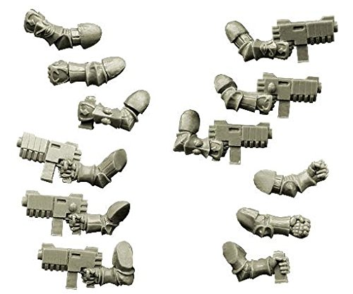 Spellcrow 28mm Sci-Fi - Changed Legions: Changed Knight Hands with Rapid Guns -
